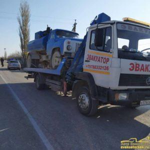 Эвакуация и перевозка грузовиков