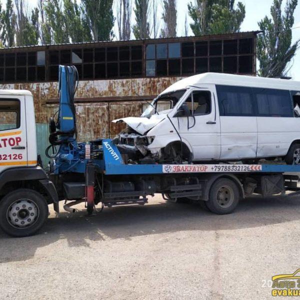 Эвакуация микроавтобусов 1