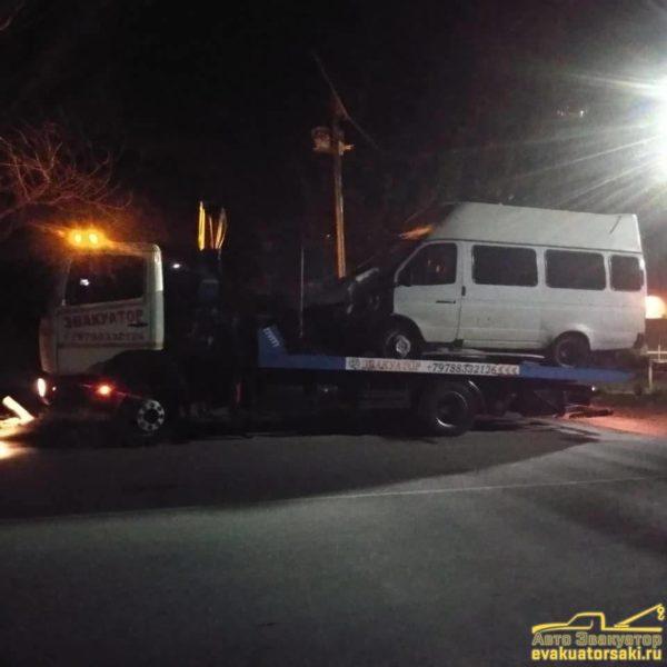 Эвакуация микроавтобусов 2
