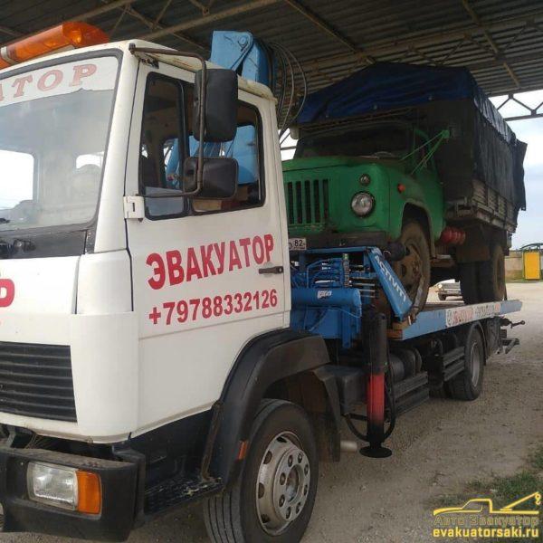 Перевозка грузовых автомобилей фото 1
