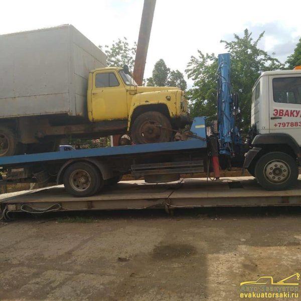 Перевозка грузовых автомобилей фото 4