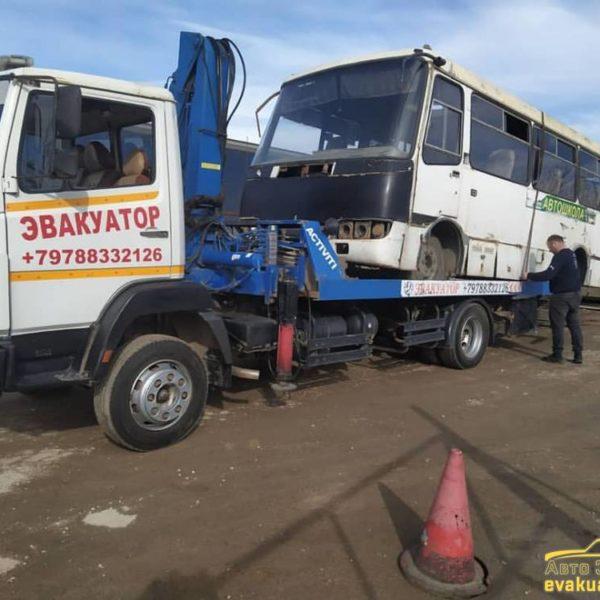 Перевозка и эвакуация автобусов в Крыму 1