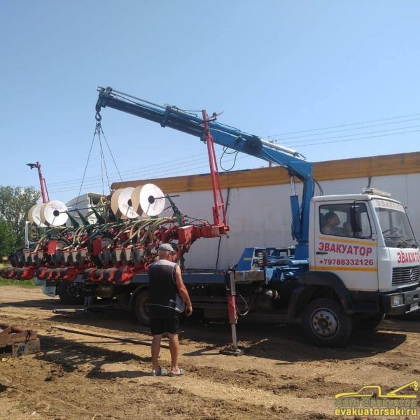 Сельхозтехника перевозка по Крыму 2
